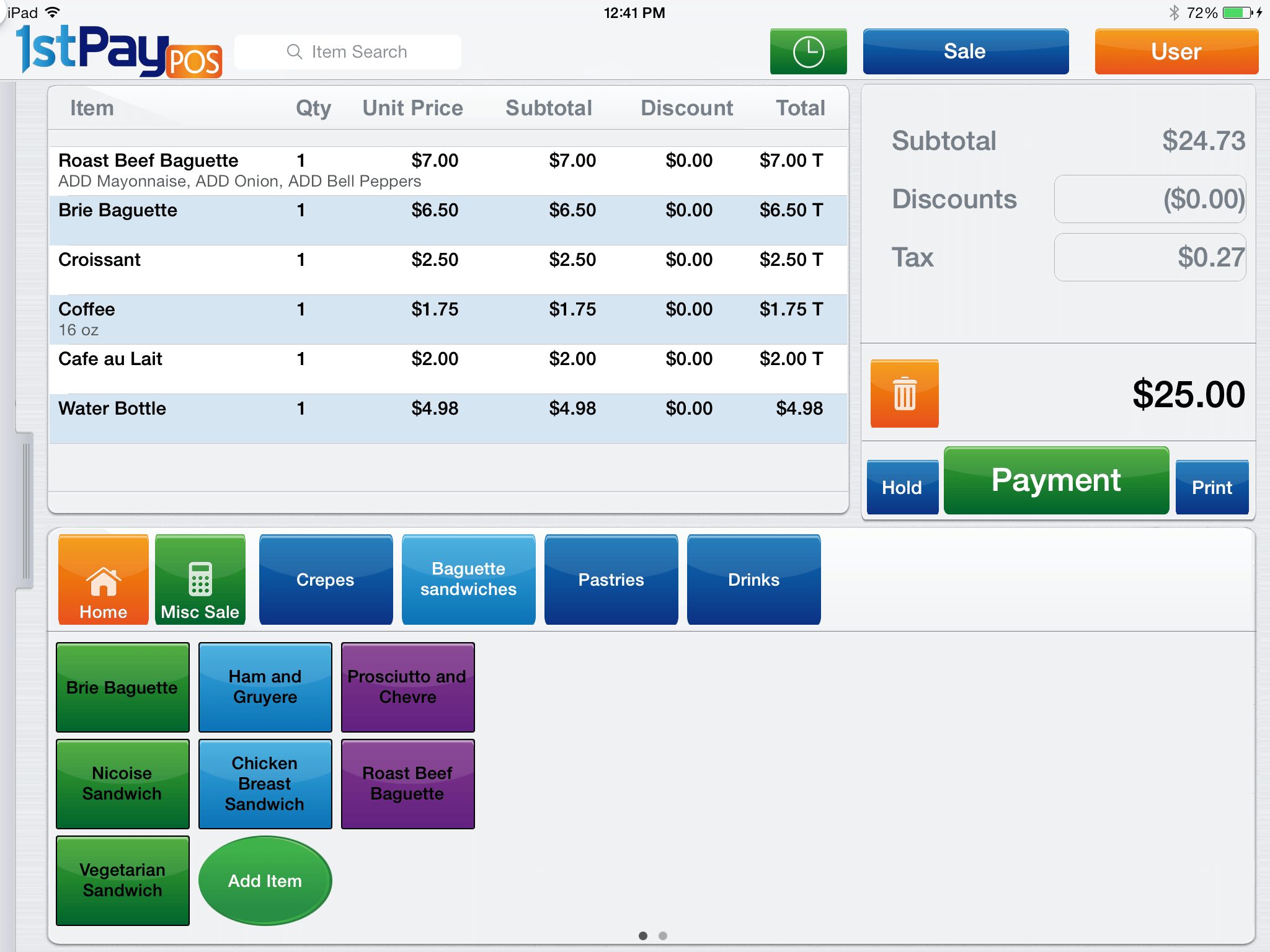 Ipad Pos System 1stpaypos Support Articles Ipad Point Of